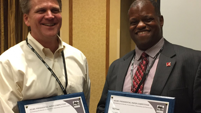 C&IS Faculty Win Big at AEJMC