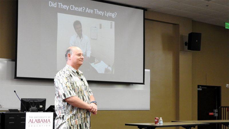 Dr. Timothy Levine Visits C&IS