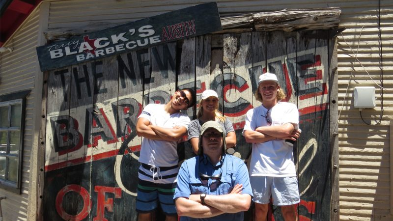 C&IS Students Travel the South to Experience Barbecue