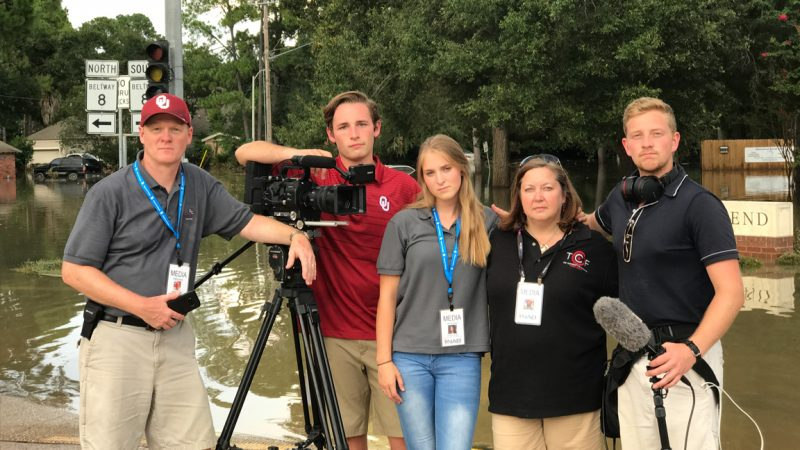 Documenting Hurricane Harvey