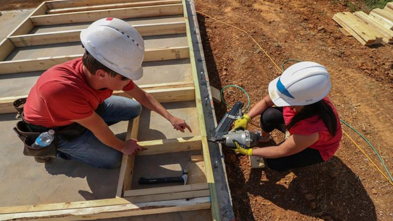 Helping Habitat: C&IS Students Give Back