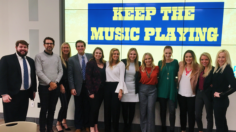 CMA Trip Brings Real-World Pitch Experience