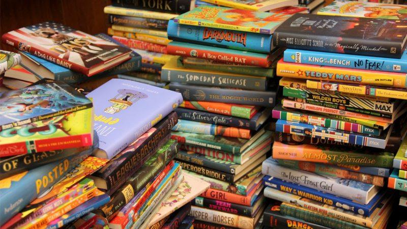 SLIS Breaks Record for Book Bonanza