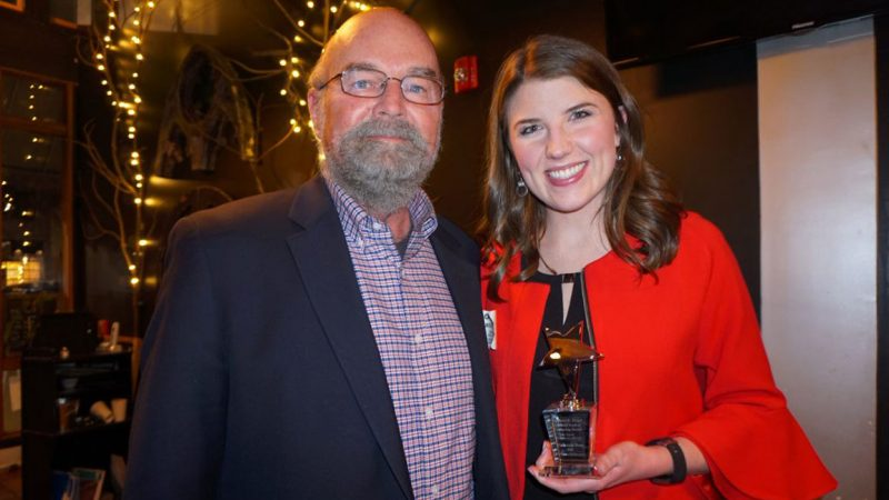 Mackenzie Ross Wins Bruce K. Berger Award