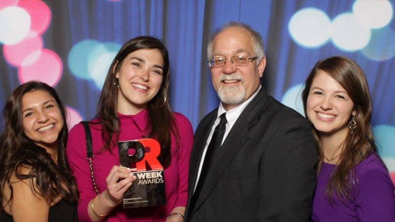 C&IS' Montanari Named PRWeek Student of the Year