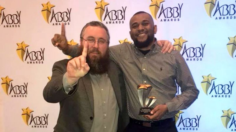 Marquis Munson Wins Best in Broadcast ABBY