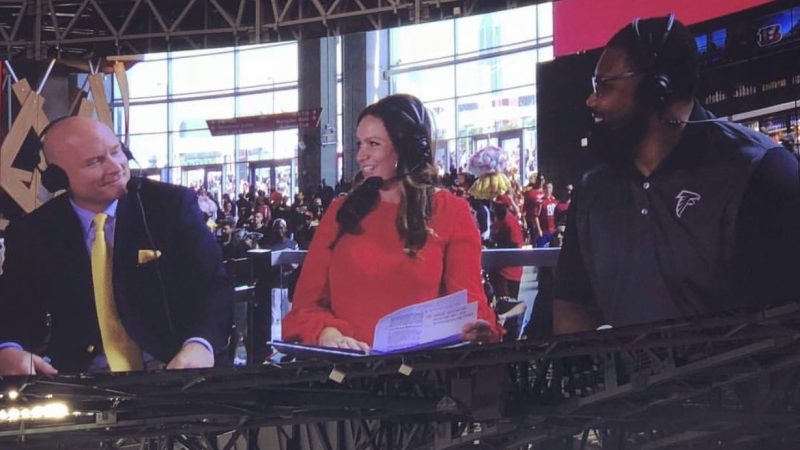 C&IS Alumna Hosting on the Big Stage for the Atlanta Falcons