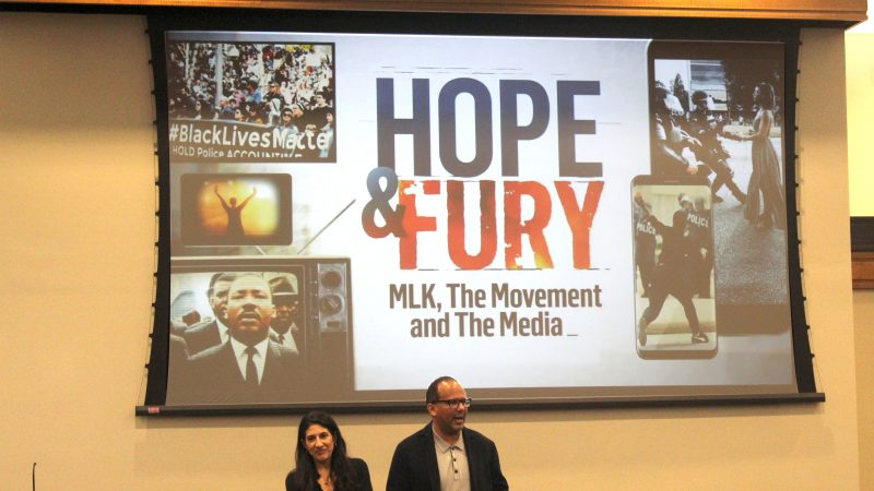 Directors of MLK Documentary from NBC Screen Film for C&IS Students