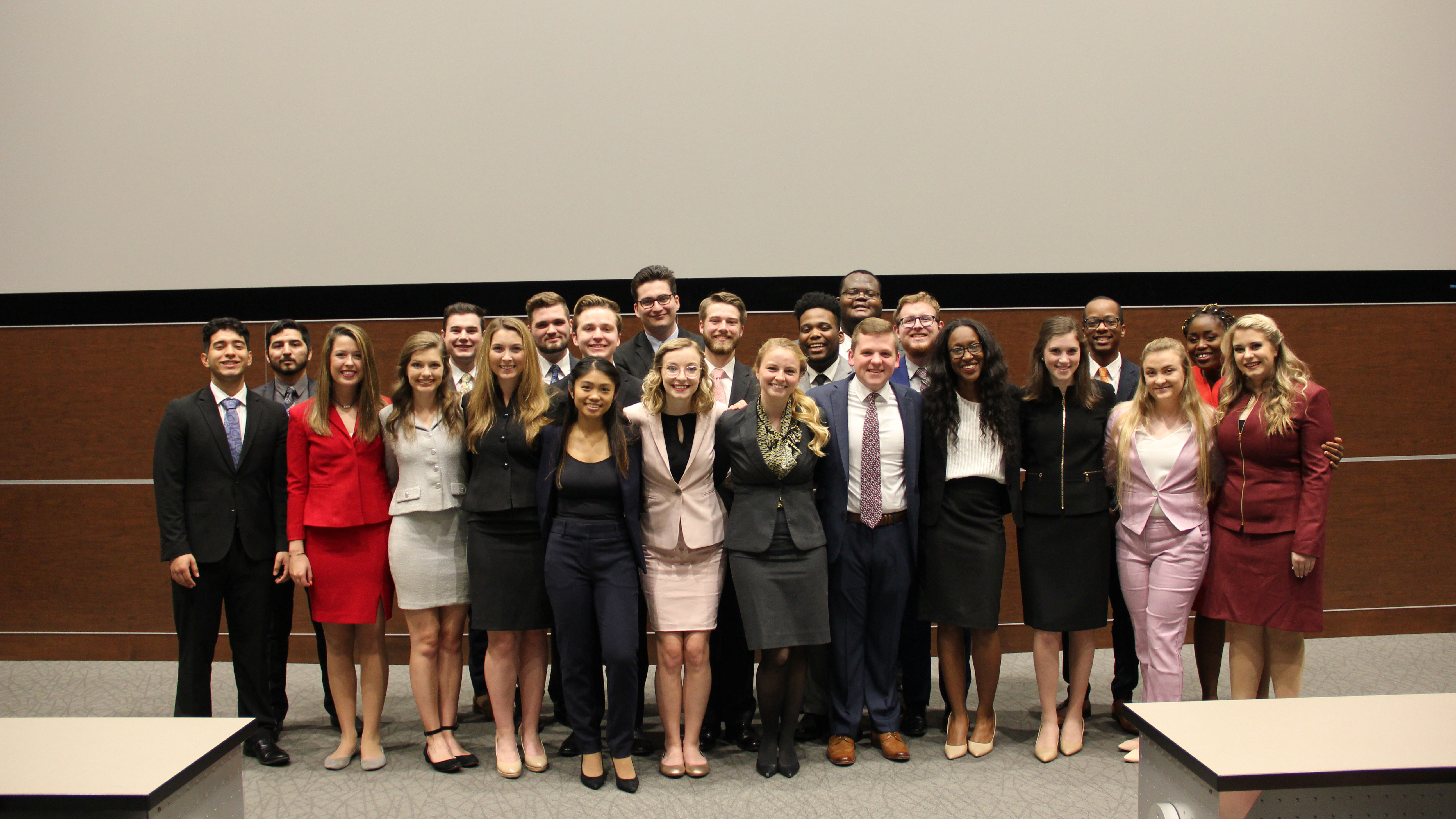The 2018 Alabama Forensic Council team at last year's Forensics National Showcase.