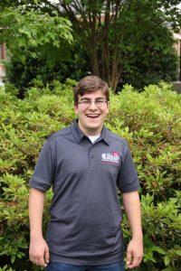 Cooper Huskey, Sophomore News Media Major from Jacksonville, FL.