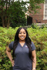 Jasmine Bolden, Senior News Media Major from Decatur, AL.