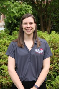 Kayleigh Westbrook, Senior Communication Studies Major from Dallas, GA.